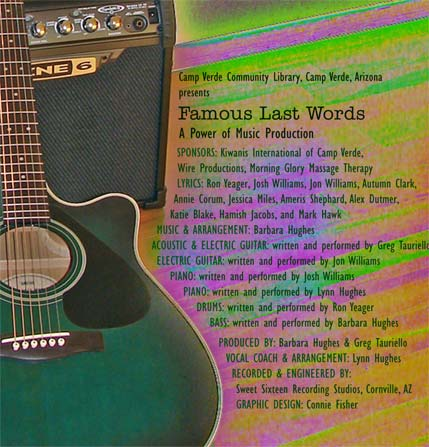 Famous Last Words by B. Hughes Power of Music