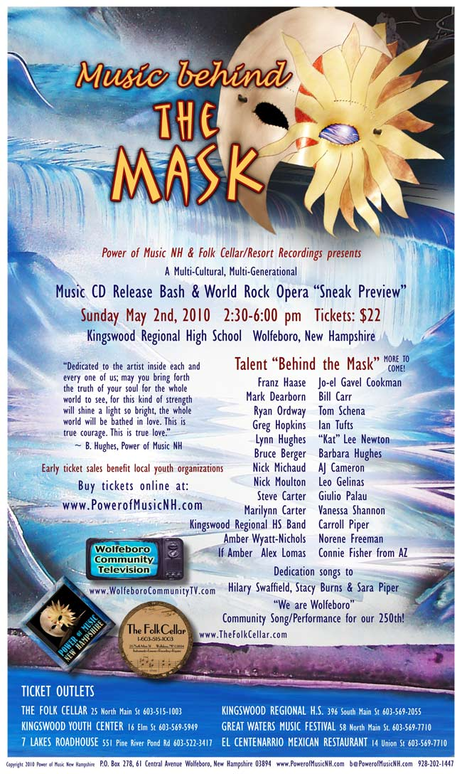 Music Behind the Mask poster